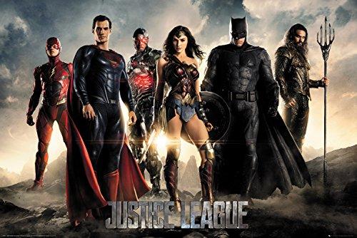 GB Eye Maxi Poster Justice League Characters, verschiedenen, 61x 91,5cm