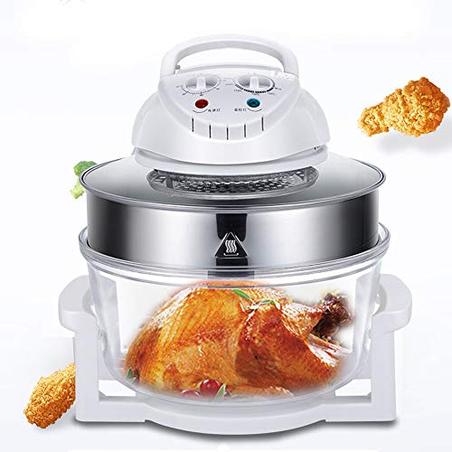 Air Fryer,12L/17L Turbo Air Fryer Convection Oven Roaster Electric Cooker Oil-less Multifunction Infrared, Includes Recipe Book (17L)