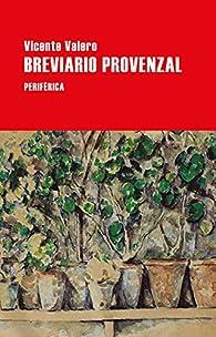 Breviario provenzal par Vicente Valero