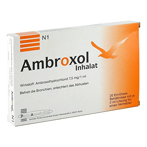AMBROXOL Inhalat Inhalationslösung 20X2 ml