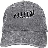 ZouLL Gorra de béisbol Unisex Judo Fighter Algodón Denim Trucker Hat Ajustable Vintage...
