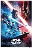 Star Wars Laminiert Rise of Skywalker Saga Maxi Poster 61 x