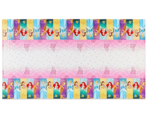 Plastic Table Cover | Disney Princess Dream Big Collection | Party Accessory