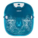 Conair Heat Sense Foot Pedicure Spa with Massaging Foot Rollers, Soothing Bubbles and Heat