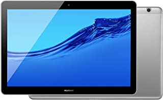 "Huawei MediaPad T3 10"" WiFi Tablet Android 16GB 2 RAM -Android Nougat -Aluminum Alloy Body (Gray) -International Version- No Warranty"