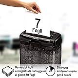 Zoom IMG-2 fellowes distruggi documenti m 7cm
