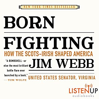 Born Fighting audiobook cover art