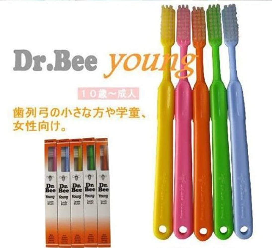 ペンどこでもしっかりBeeBrand Dr.BEE 歯ブラシヤング かため