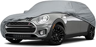 4 Layer Water Resistance Custom Fit Car Cover for Mini Cooper S Model Year 2000-2018