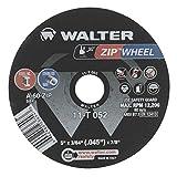 Walter 11T052 5x3/64x7/8 ZIP WHEEL High Performance Cut-Off Wheels Type 1 A60 Grit, 25 pac...