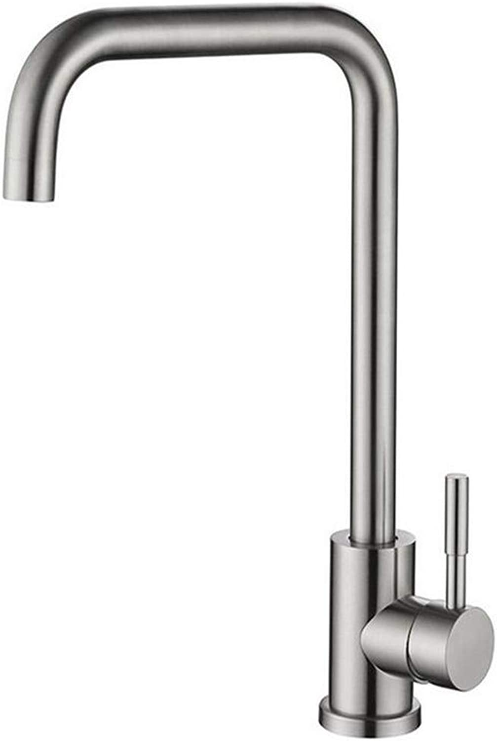 Faucet Luxury Modern Plated Mixer Faucet Stainless Steel Kitchen Bath Faucet