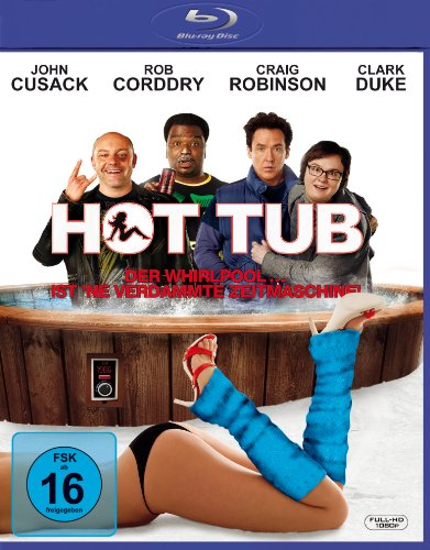 Hot Tub - Der Whirlpool ... ist 'ne verdammte Zeitmaschine - Extended Cut [Blu-ray]