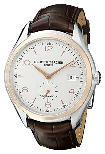 Baume & Mercier BMMOA10139 - Reloj de Pulsera Hombre, Color Marrón