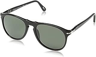 Designer Sunglasses Bundle: Persol Men's PO9649S Sunglasses & Carekit