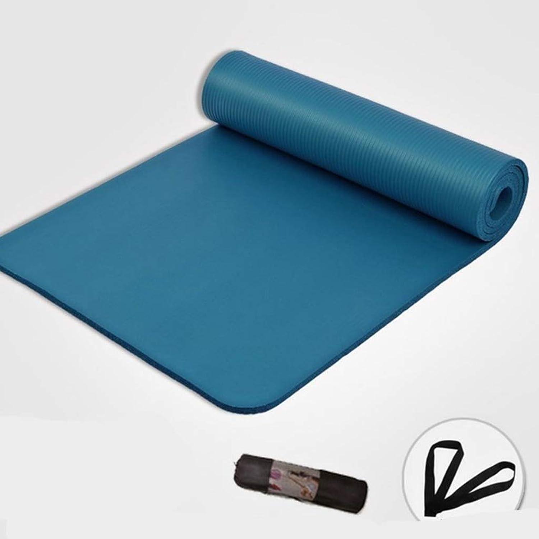 DLJFU - Yogamatte rutschfeste Yoga-Matte Dicke Pilates-Matte Gym Weiche Pilates-Matten Faltbare Matten Für Bodybuilding-Fitness-übungen (Farbe   A)