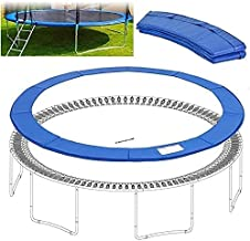 WSVULLD Upper Bounce Super Trampoline Safety Pad (Spring Cover) 8FT 10FT 12FT 13FT 14FT 15FT 16FT Past voor Ovale Frames B...