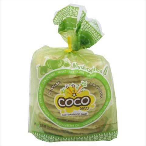Coco Lite Multigrain Pop Cakes, Maui Onion, 2.64-Ounce (Pack of 6)