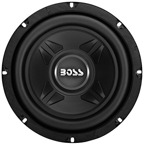 BOSS Audio CXX8 600 Watt, 8 Inch, 4 Ohm Single Voice Coil Subwoofer