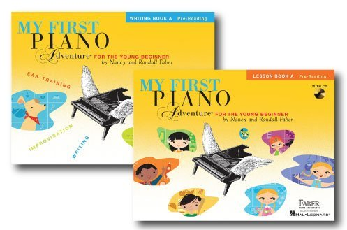 My First Piano Adventure for the Younger Beginner - Two Book Set - Includes Lesson Book A and Writing Book A