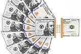 10,000 US Dollar Spielgeld Geldscheine - 100 mal $ 100 Scheine Prop Money