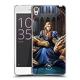 Head Case Designs Oficial Anne Stokes Fidelidad Feroz Dragones 3 Carcasa de Gel de Silicona Compatible con Sony Xperia E5