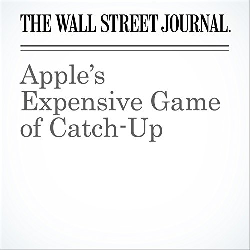 Apple's Expensive Game of Catch-Up copertina