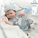 Zero Pam Bebes Reborn de Silicona Cuerpo Completo Muñecas para bebés realistas Hechas a Mano niños anatómicamente correctos Cuerpo batible muñecas prematuras renacidas para niños