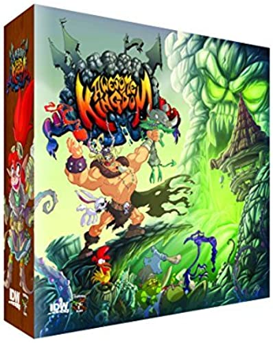 Awesome Kingdom  The Tower of Hateskull Board Game by IDW Games