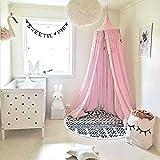 Baby Baldachin Betthimmel, Baumwollmoskitonetz, Babyspiel-Lesezelt, Schlafzimmer Dekoration