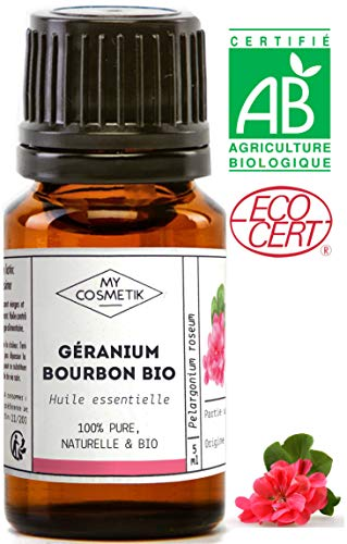 Etherische olie van Bourbon Geranium BIO - MyCosmetik - 10 ml