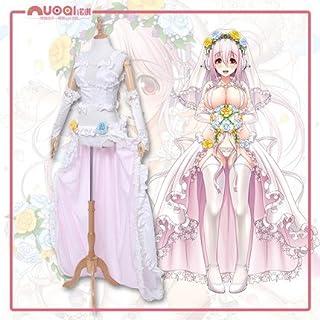 すーぱーそに子 GSC 10th記念 花嫁 ドレス ワンピース コスプレ衣装(女M)