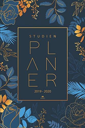 Studienplaner 2019 2020: Semesterkalender, Taschenkalender, Studienplaner, Studentenkalender 2019 - 2020 |Planer, Terminplaner und Kalender von August 2019 bis September 2020