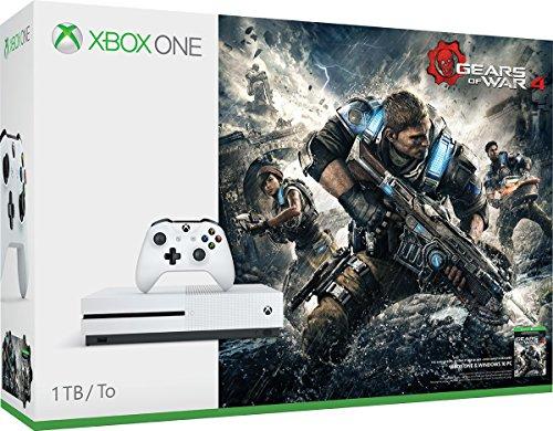 Xbox One S 1TB Console - Gears of War 4 Bundle - Bundle Edition