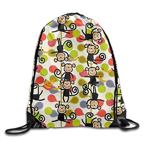 Jiger Drawstring Bag Sack Pack Spring Flower Cinch Tote Adults Storage Bag for Gym Traveling