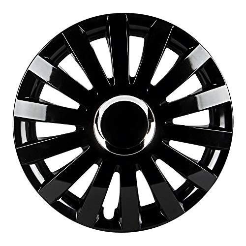 Pilot Automotive WH550-16GB-B Performance E Series 16  Wheel Cover, Gloss Black Finish, (Pack of 4)