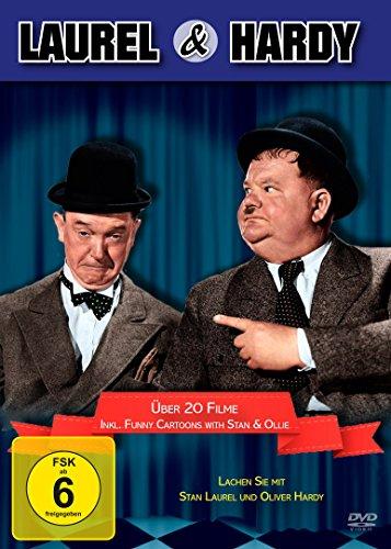 Die Laurel & Hardy Box (20 Filme+Bonus) [4 DVDs]