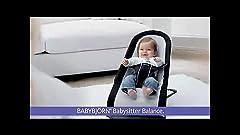 Amazon Com Babybjorn Babysitter Balance Black Red
