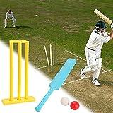 FunPa Jeu de Cricket pour Enfants Jeu de Sport créatif Jeu de Balle pour Plage