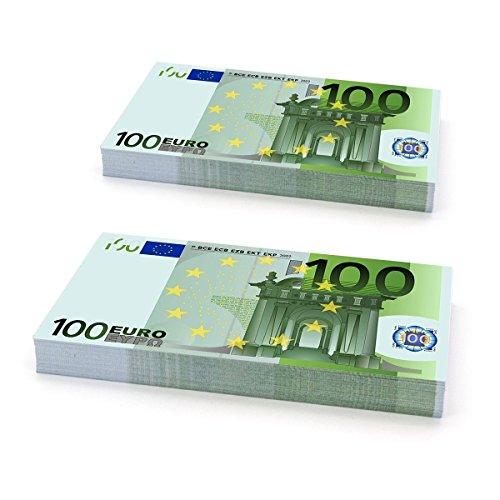 Plata o Plomo Paquete 200 boletos ficticios para Jugar € 100 Euros Ideal Party, Casinos, Juegos, Cine ... Etc