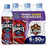 Font Vella agua mineral natural esports - pack de 6 x 50cl