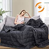 Maple Down Weighted Blanket for Kids 7 lbs Heavy Blanket,...