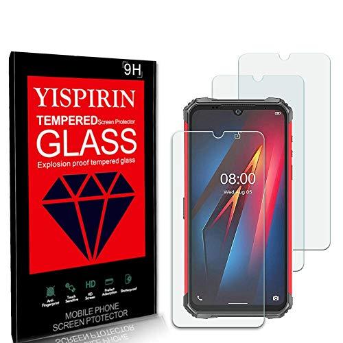 YISPIRIN (3 pezzi) Cristal Templado para Ulefone Armor 8, Dureza 9H, Anti-Rasguño,Fácil...