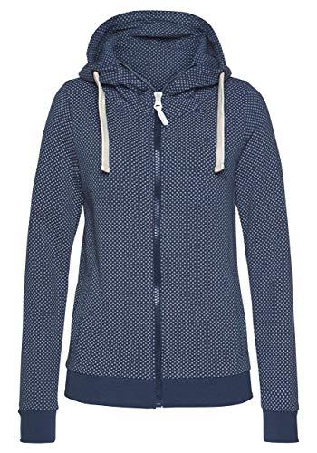 DOTIN Damen Sweatjacke Kapuzenjacke Winter Sweatshirt Kapuzenpullover Zip Hoodie Jacke mit Kapuze Pullover