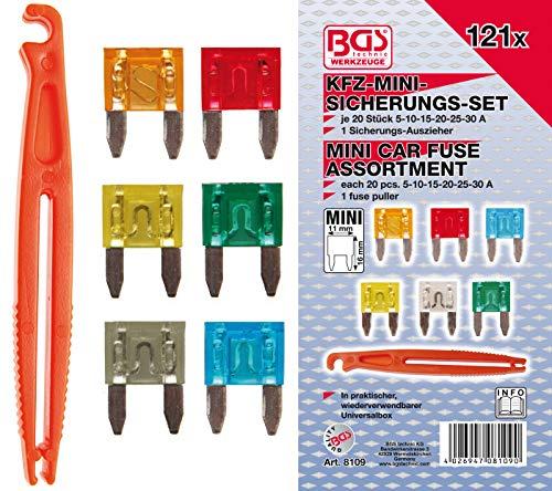 BGS 8109 | Kfz-Sicherungs-Sortiment | MINI | 121-tlg