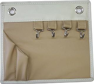東洋ケース キーフック&ペンスタンド マグネットポケット コンパクト よこ23×たて20cm ベージュ ENT-MGP-BE