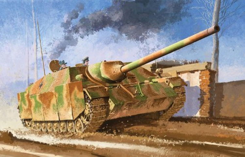 Jagdpanzer IV L 70(V) w zimmerit Aug 1944 Production (w Aluminum gun barrel) [Japan Special Limited Set] (Plastic model)