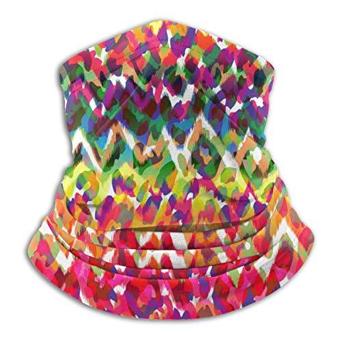 Calentador de Cuello de Microfibra Unisex Realmente Genial Textura Animal Abstracta Pasamontañas Sombreros Bufanda para Polvo Viento Protección Solar
