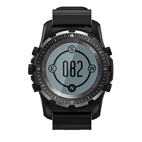 N \ A Reloj Deportivo Digital multifunción para Hombre Pantalla LED Supervivencia Brújula Cronómetro Alarma Reloj de Pulsera 3 Colores