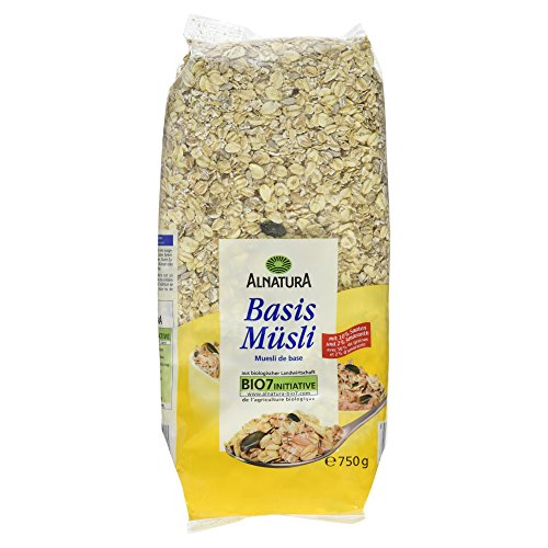Alnatura Bio Basis-Müsli, 6er Pack (6 x 750 g)