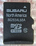 AL68A 2016 SUBARU Outback and Legacy Micro SD Navigation Card, MAP for North America, USA/Canada Part Number 86283AL68A